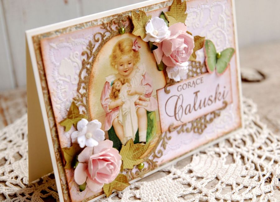 Kartka urodzinowa dla dziecka (w pudełku)