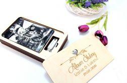 Album zdjęcia pudełko pendrive prezent