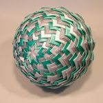Bombka ze wstązki - Joa Design 8069