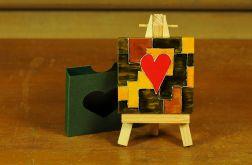 Walentynkowa kartka-magnes 2