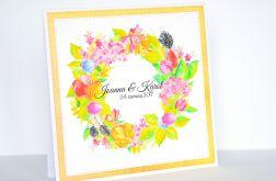 Zaproszenie - Wiosenne kwiaty