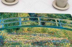 Zestaw 4 dużych podkładek korkowych Monet, Most w Giverny