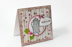 Kartka walentynkowa - idealna para