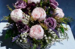 Dekoracja fioletowo-różowa