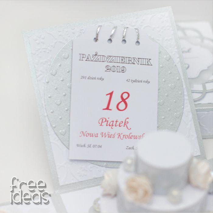 Pudełeczko dla Młodej Pary EBS19016 - torcik