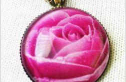 Naszyjnik Okrągła Róża
