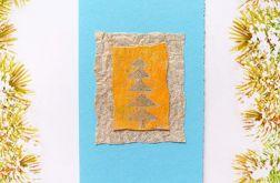 Kartka świąteczna minimalizm 47