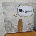Kartka urodzinowa męska wz 5a - Pudełko na kartkę