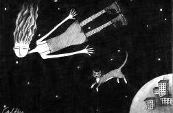 Lot - oryginalny rysunek 0410