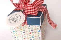 Pudełko na ślub Ptaszki