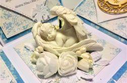 Pamiątka Chrztu świętego dla chłopca