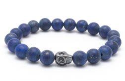 Bransoletka męska lapis lazuli hematyt l122