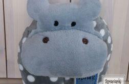 Hipopotam - poduszka i przytulanka