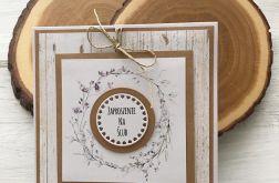 Zaproszenie na ślub- z wiankiem 03