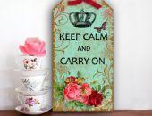 Tabliczka Zawieszka Napisy Cytaty Keep Calm