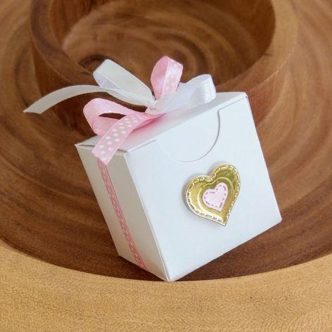 Podziękowania dla gości w formie pudełeczka