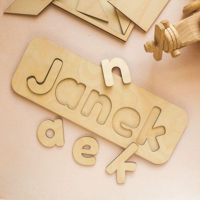 Układanka, puzzle - imię