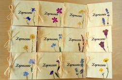 Zaproszenia na ślub kwiatowe