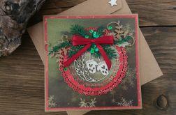 Kartka świąteczna bożonarodzeniowa #5