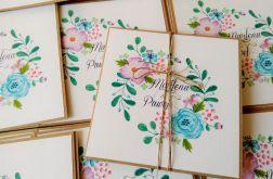 Zaproszenia ślubne flowers # 4