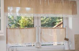 Komplet okienny na troczkach