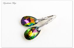 Kolczyki Swarovski Pear Shaped 16mm