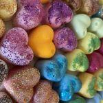 Karmelizowane nerkowce -wosk sojowy zapachowy - wosk zapachowy serduszka