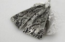 Koronka - metalowe kolczyki 130917-02