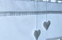 Bawełniana firanka szyta na wymiar - zazdroska lambrekin