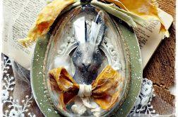 Jajko zielone 15 cm - ozdoba Wielkanocna