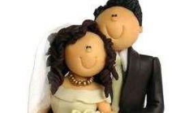 Figurka ślubna na tort