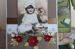 KARTKA WIELKANOCNA - vintage 1