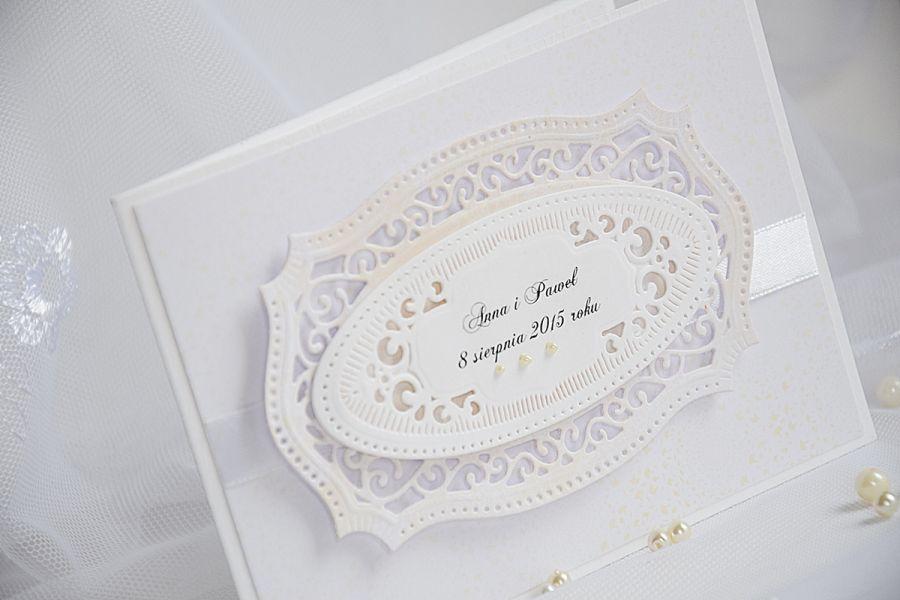 Ażurowe zaproszenia na ślub