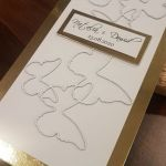 Kartka ślubna z motylami - Kartka ślubna z motylami