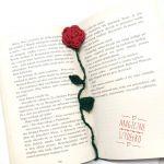 Zakładka z różą - Zakładka z różą