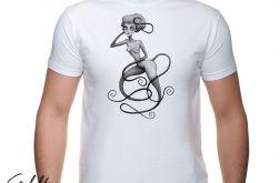 Wężowa - t-shirt męski - różne kolory