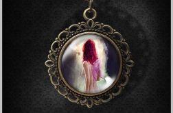 Medalion Wróżka - romantyczny