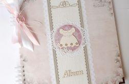 Album dla dziewczynki z magnoliami 30 x 30 cm