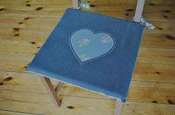 4 siedziska - Antracytowe serce