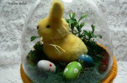 Jajko z królikiem 3D