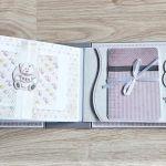 Album dla dziewczynki w pudowym różu - null