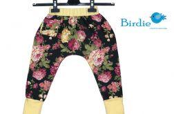 Spodnie, Alladyny, Pumpy z kieszonką rozm.92 (kwiaty)