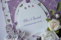 Ślubna fioletowa dla Pani Gabrieli