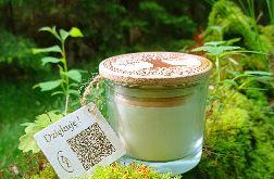 Naturalna świeca aromaterapeutyczna- różne zapachy