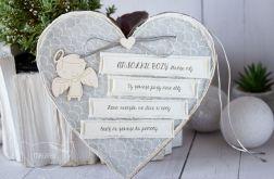 Serce z Aniołkiem i modlitwą (m03)