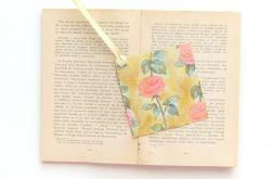 Zakładka do książki w róże nr 3
