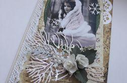 Kartka Boże Narodzenie, Vintage.
