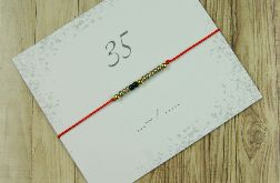 35 Bransoletka Lucky number Morse Code
