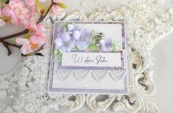 Ślubna kartka w pudełku 60