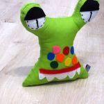 Przytulaśny Stworek Zielony żabuś - Żabuś